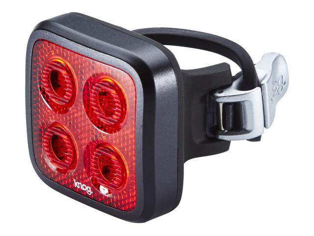 Knog Blinder MOB Four Eyes Fietsverlichting rode LED zwart